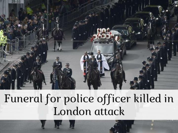 funeral for police officer killed in london attack n.