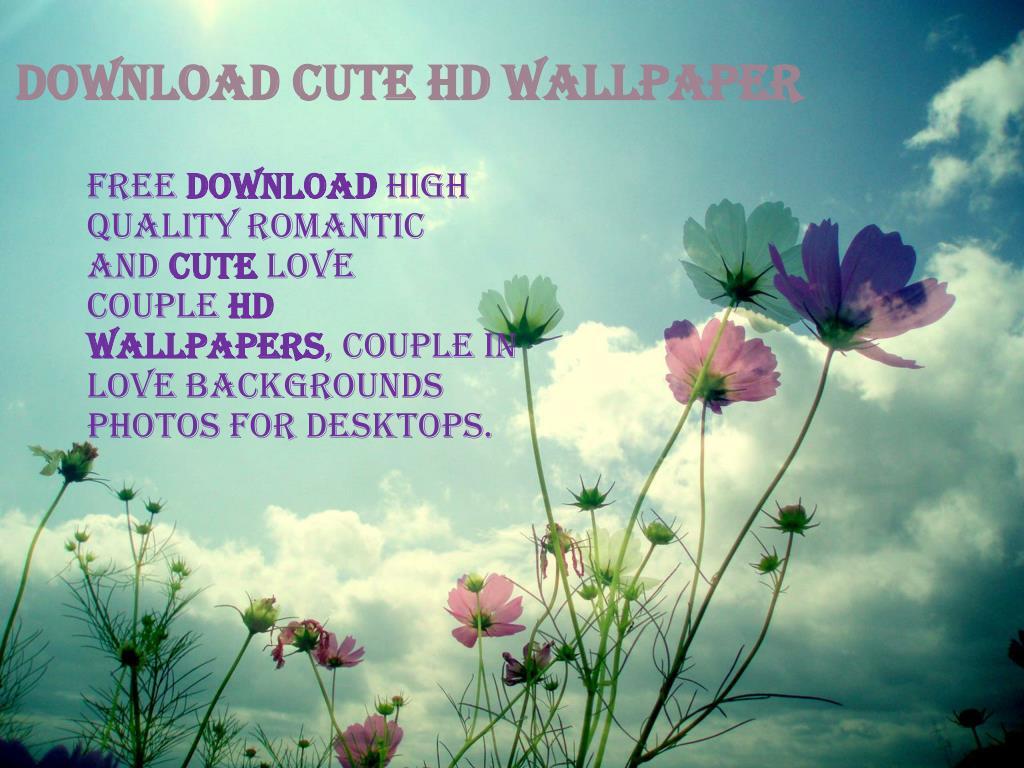 Ppt Download Cute Hd Wallpaper Powerpoint Presentation Id 7552207