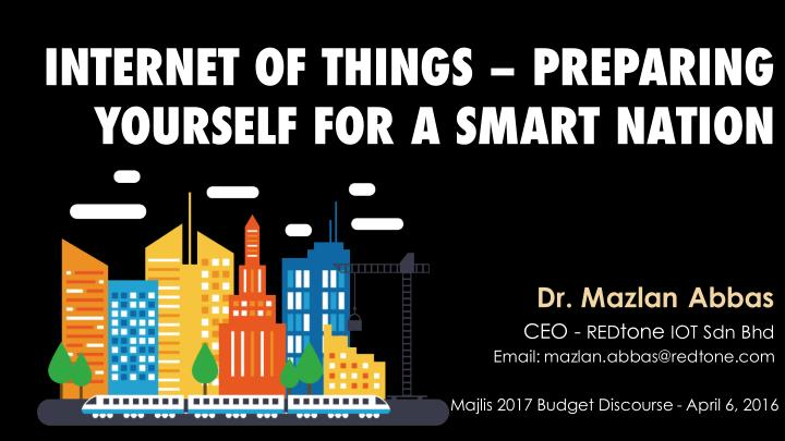 internet of things preparing yourself for a smart n.