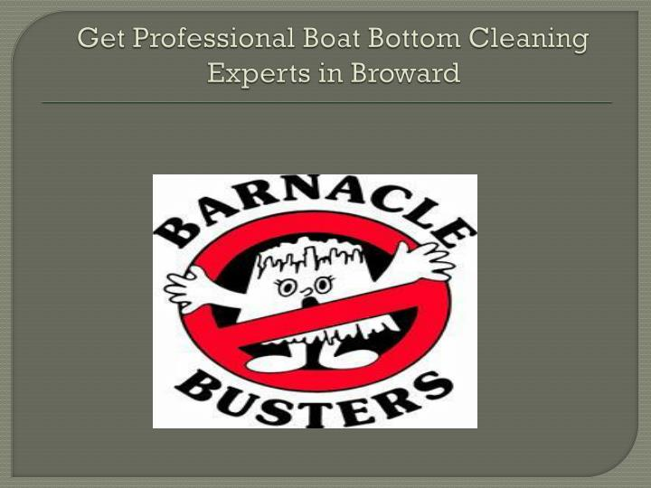 get professional boat bottom cleaning experts in broward n.