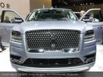 frontal view of the 2018 lincoln navigator
