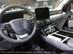 interior view of the 2018 lincoln navigator