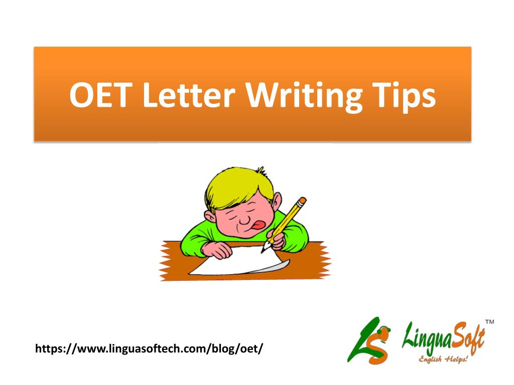 ppt oet letter writing tips powerpoint presentation id 7553365