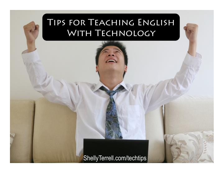 tips for teaching english with technology n.