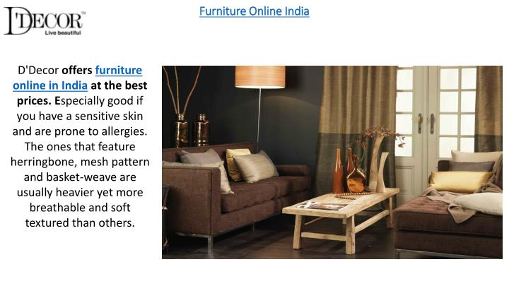 Furniture Online India