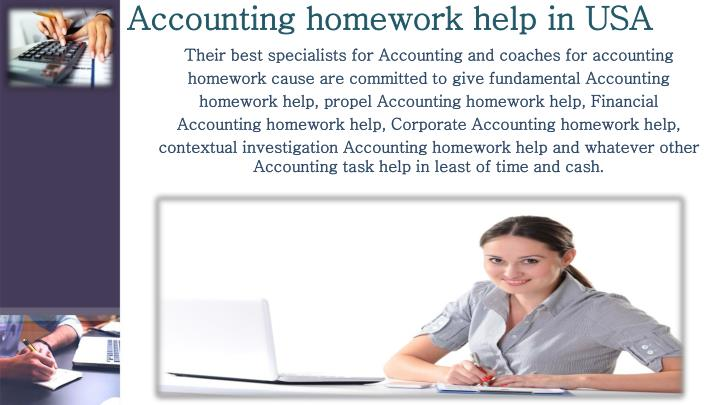 help with accounting homework Accounting homework help, chicago, illinois 60 likes 8 talking about this we are offering online accounting homework help with best concept.