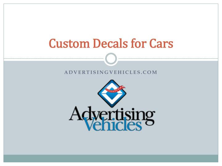 custom decals for cars n.