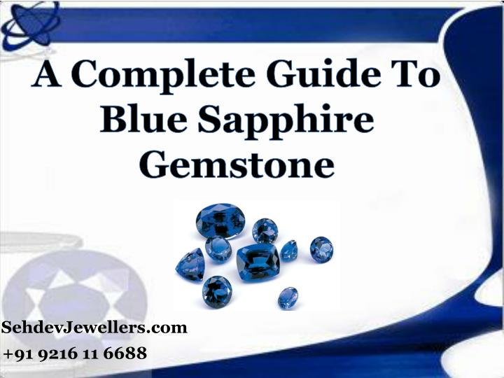 a complete guide to blue sapphire gemstone n.