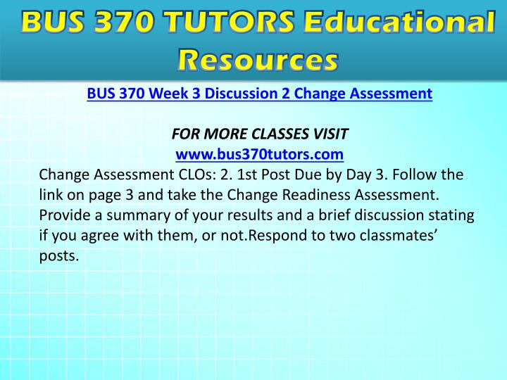 paper written on bus 370 organizational development for ashford