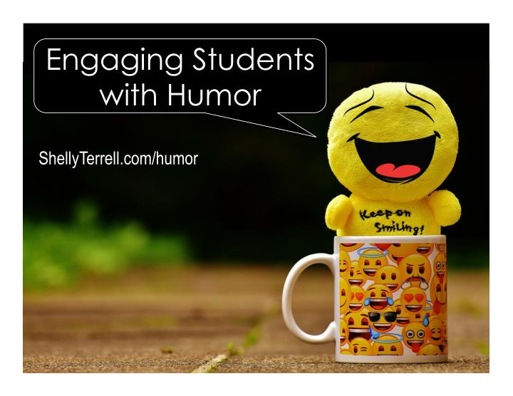 engaging students with humor n.