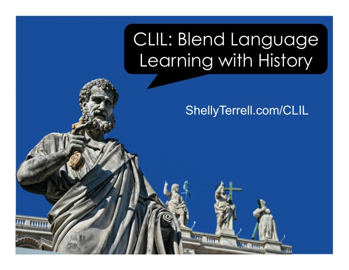 clil blend language learning with history n.
