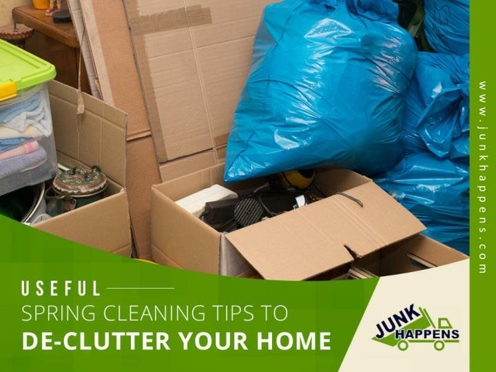 useful spring cleaning tips to de clutter your home n.