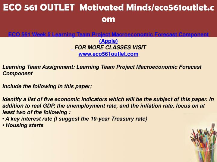 macroeconomic research paper eco 561