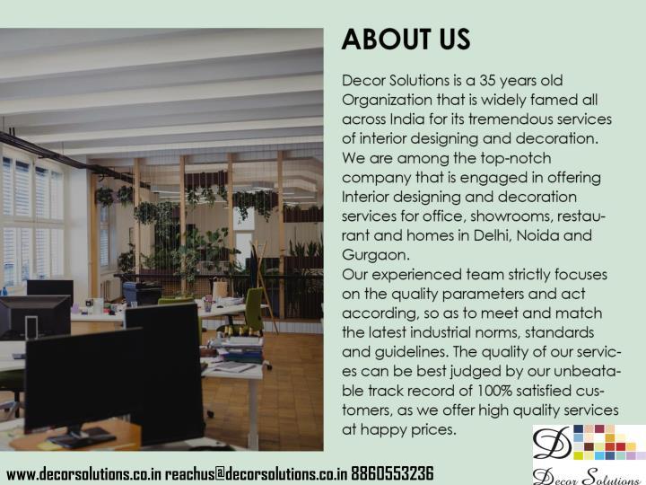 PPT Corporate Interior Decorators In Delhi Ncr Gurgaon Noida India 17 PowerPoint