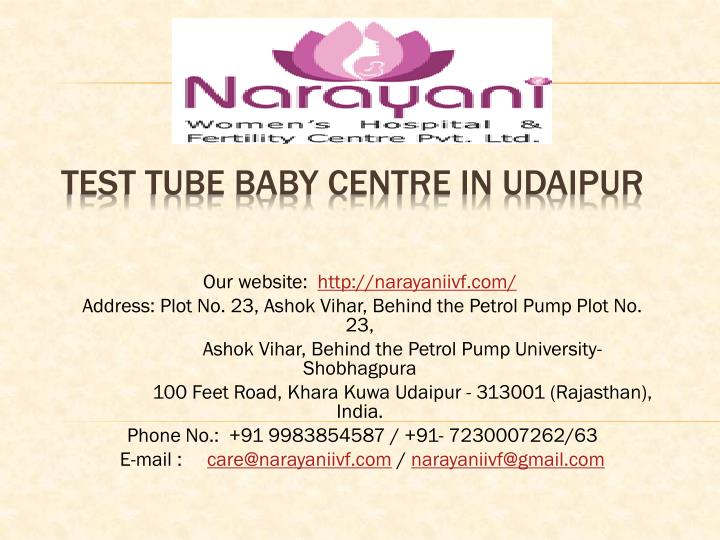 test tube baby centre in udaipur