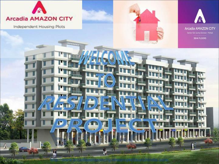 welcome to residential project n.