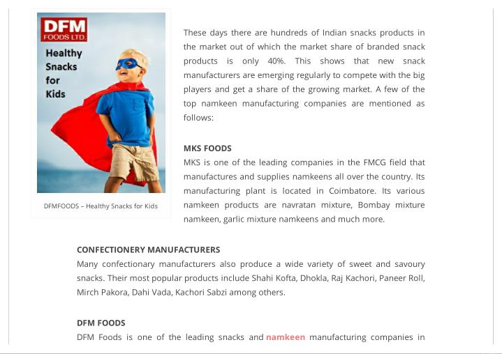 PPT - Most Popular Namkeen Product Manufacturers in India
