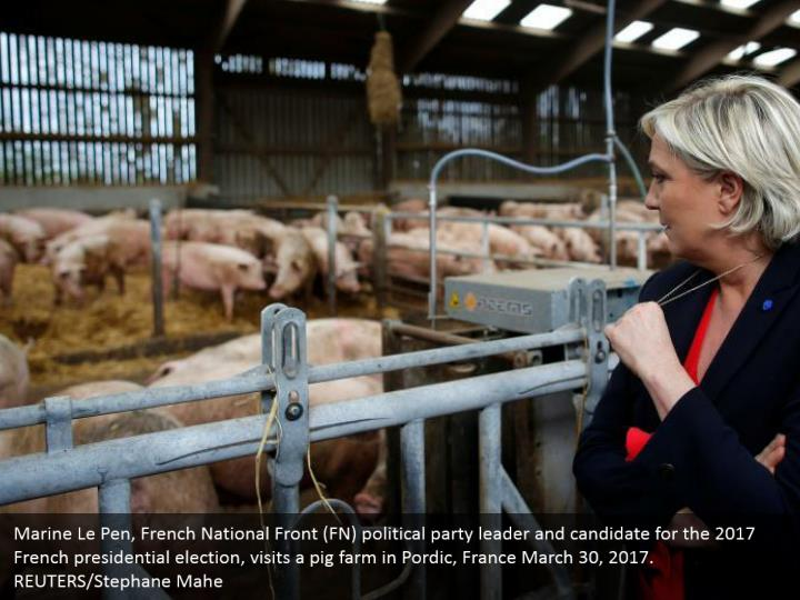 Marine le pen french national front fn political