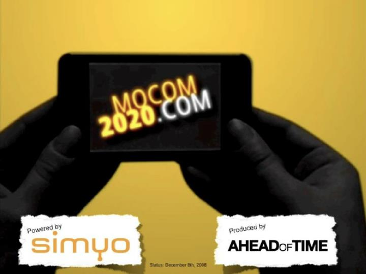 mocom 2020 the future of mobile project preview n.