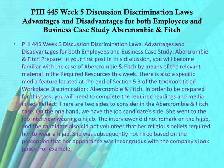 phi445 week 4 discussion 2