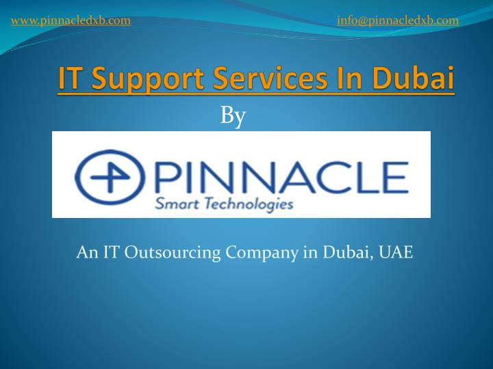 it support services in dubai n.