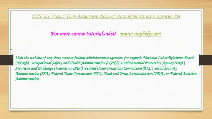 com 321 week 1 assignment Homework lance online homework help home featured products  click the assignment files tab to submit your assignment eth 321 week five 1-employment law case .