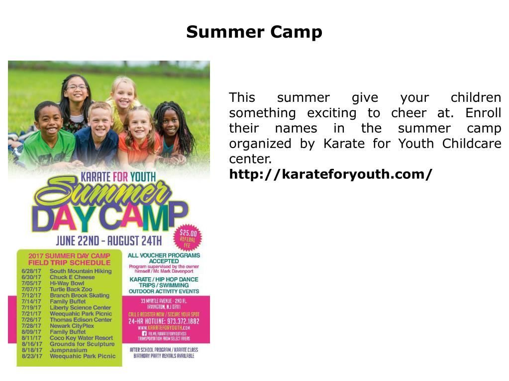 PPT - Summer Camp PowerPoint Presentation - ID:7561381