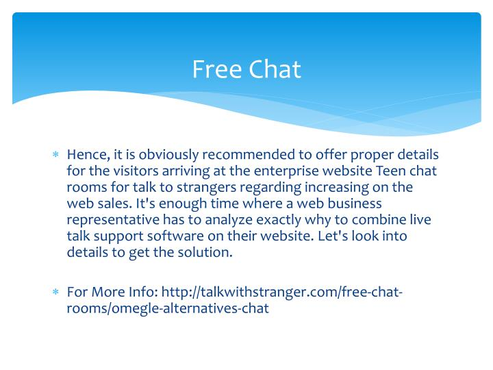 Live teen chat room