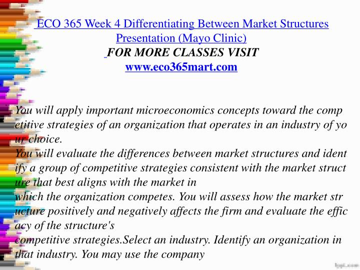 eco 365 table market structure Differentiating between market structures jessika canales díaz eco /365 08/28/2010 instructor: sr carlos méndez david differentiating between market.