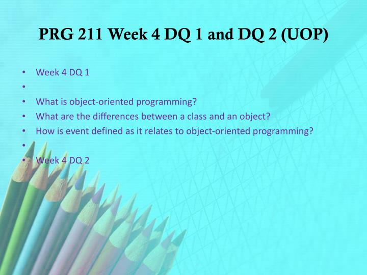 prg 211 week 1 Prg 211 week 1 individual university project problem solving with algorithms prg 211 week 2 individual tip, tax, and total prg 211 week 2 individual university.