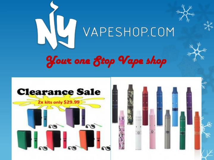 your one stop vape shop n.