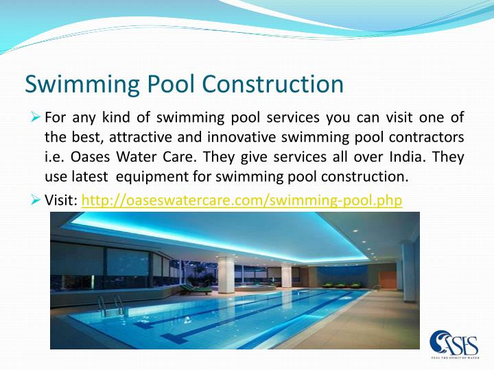 Ppt swimming pool contractors powerpoint presentation id 7563903 for Swimming pool finance companies
