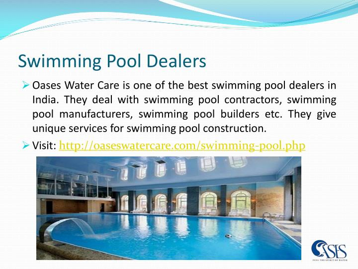 Ppt swimming pool contractors powerpoint presentation for Pool dealers