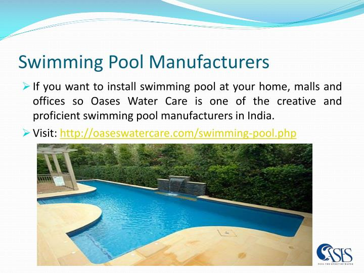 Ppt swimming pool contractors powerpoint presentation for Swimming pool manufacturers