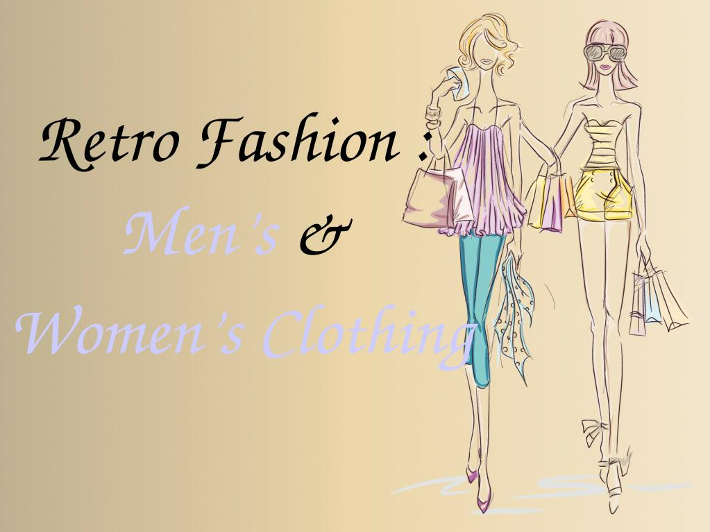 Ppt Retro Fashion Powerpoint Presentation Free Download Id 7563998