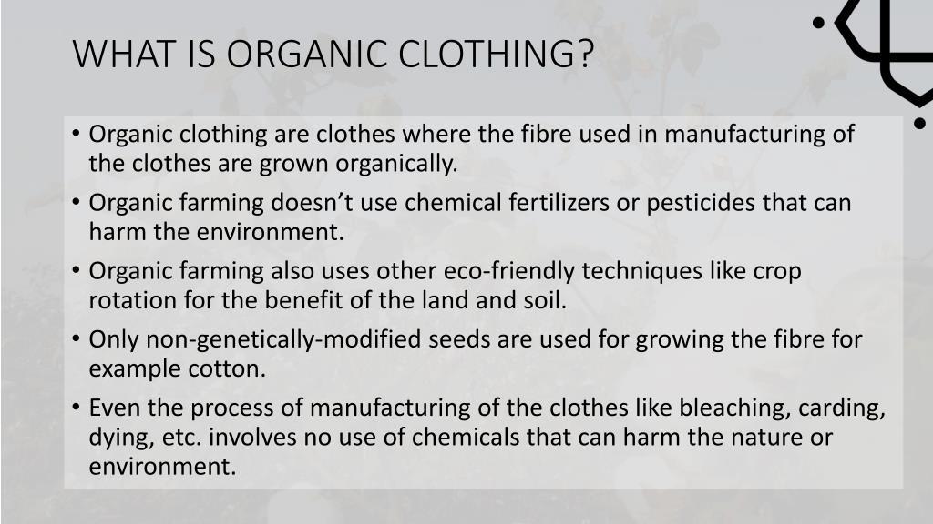 organic clothing in australia