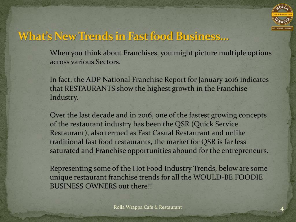 PPT - Food Franchise Opportunity,cafe franchise,Fast Food franchise