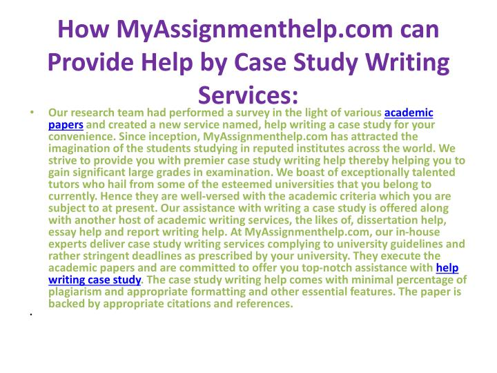 case study writing services Buy a case study - get expert writing help from our service writing a case study is a common task assigned to students in order to teach them about business practices.