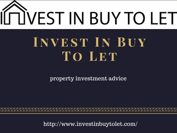 invest in buy to let n.