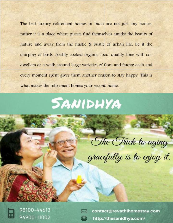 Best retirement options in india