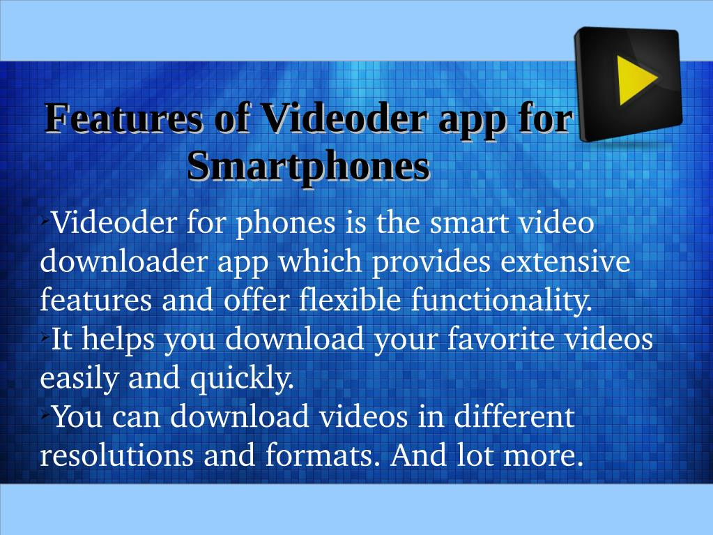 PPT - How To Install Videoder On Mobile Phones? PowerPoint