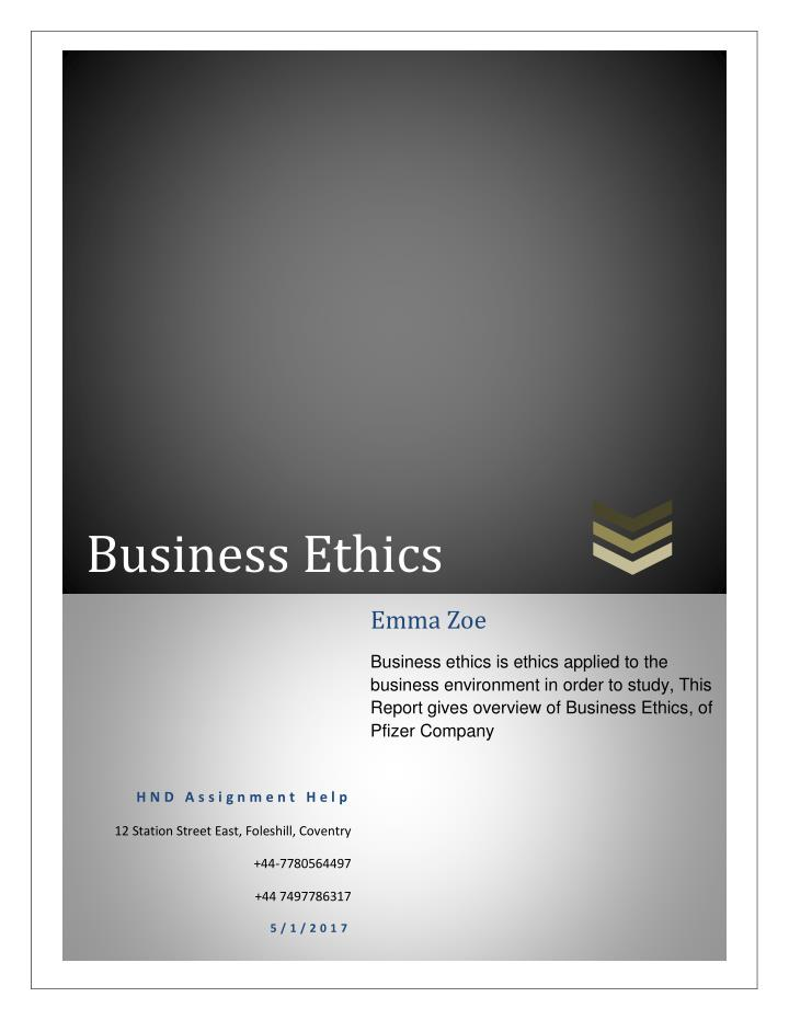 five business ethics myths 3 this is a crash course •for more: -check out my online coursegoogle youtube business ethics course -see my blog ethicaldecisionsnet - rational analysis of ethical dilemmas.