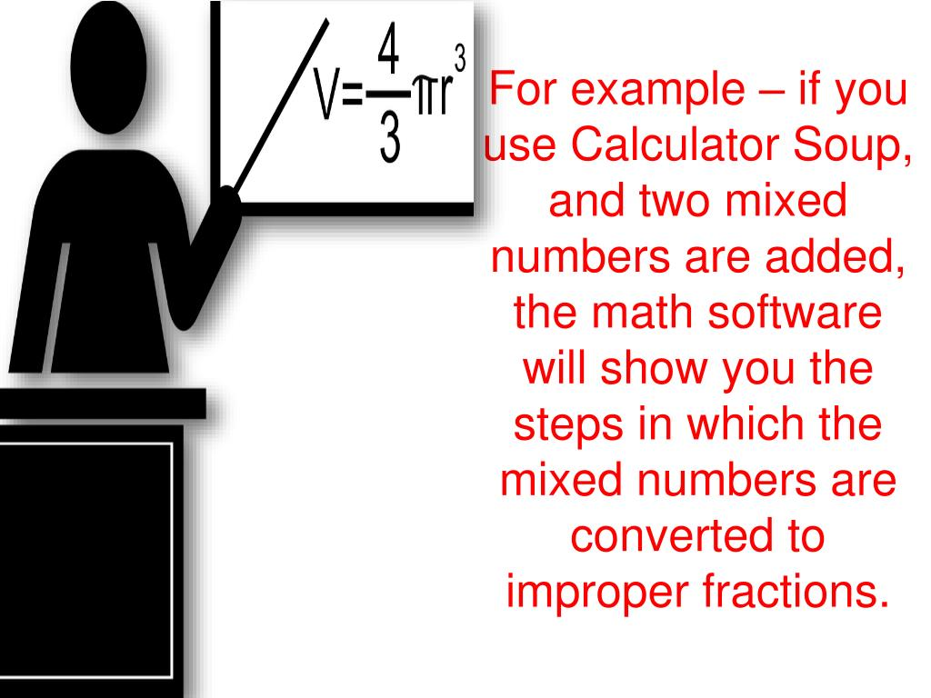 PPT - HOW DOES A MIXED FRACTION CALCULATOR HELP PowerPoint