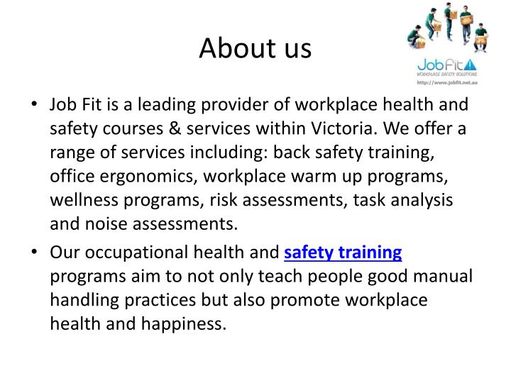 Ppt  Manual Handling Risk Assessment  Jobfit Powerpoint