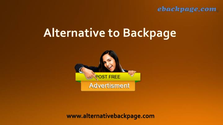 PPT - Backpage Alternative PowerPoint Presentation, free