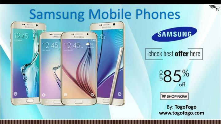PPT - Samsung Mobile Phone PowerPoint Presentation - ID:7569807