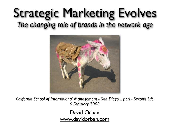 the changing role of marketing in The changing role of marketing in the corporation the changing role of marketing in the corporation.