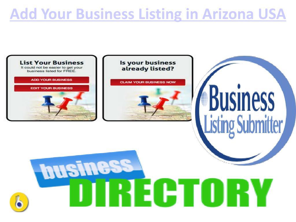 PPT - Arizona Free Business Directory PowerPoint Presentation - ID