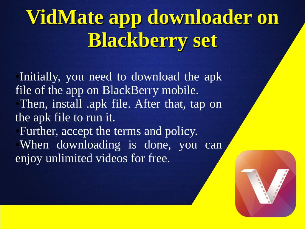PPT - VidMate App Videos & Music Downloading PowerPoint