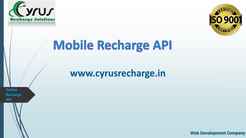 PPT - B2C Mobile Recharge API PowerPoint Presentation - ID